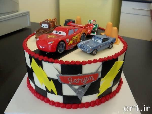 تزیین کیک با ماشین