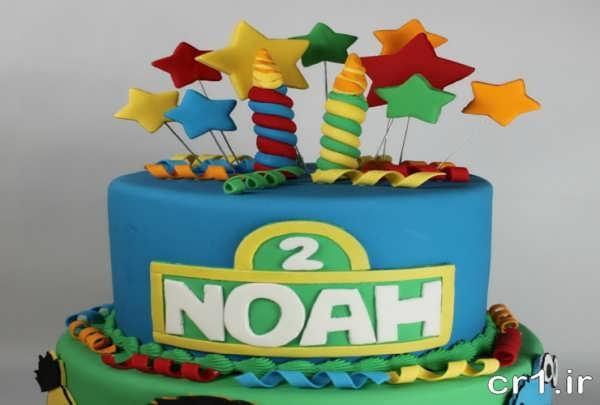 مدل کیک برای تولد پسرانه