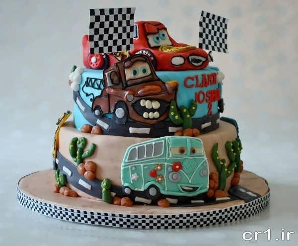 تزیینات کیک برای جشن تولد