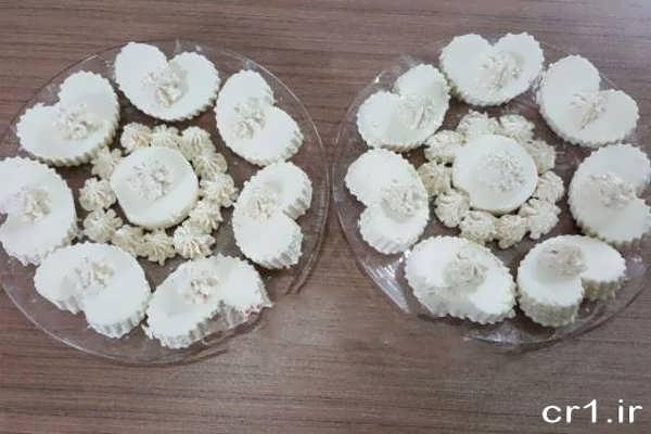 تزیینات پنیر در ظرف