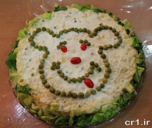 تزیین غذای کودکانه برای جشن تولد