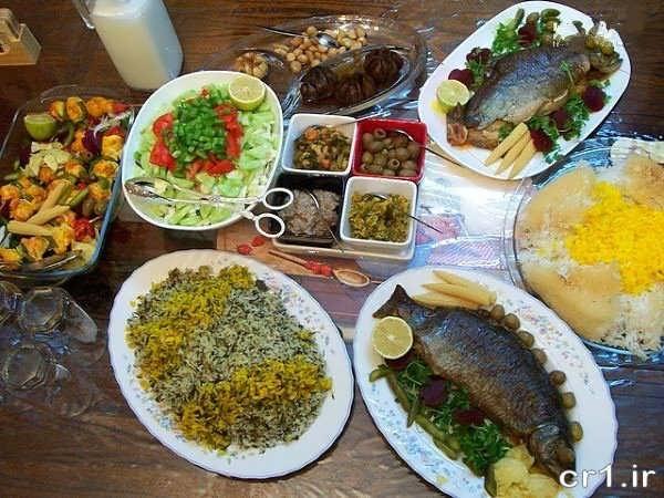 تزیین و چیدمان سفره ایرانی