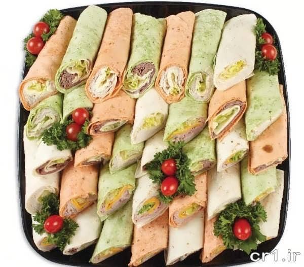 دیزاین ساندویچ برای تولد