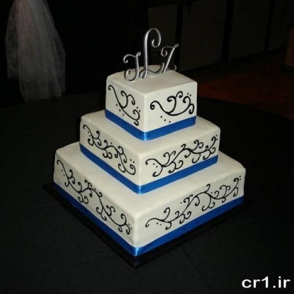 تزیین کیک جشن عروسی