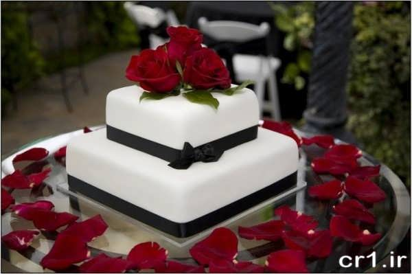 تزیینات زیبای کیک عروسی