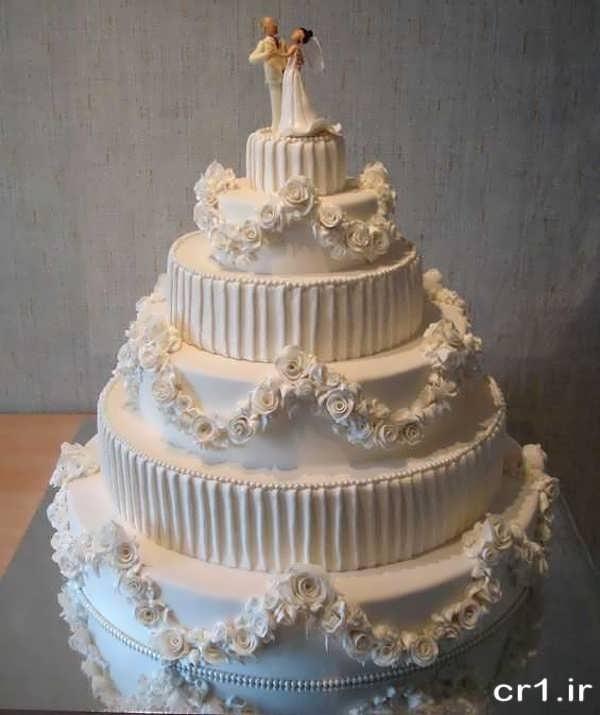 عکس های کیک عروسی زیبا و جدید