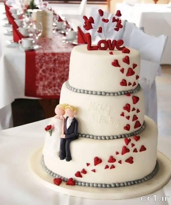 تزیین کی کزیبا و خاص برای عروس و داماد