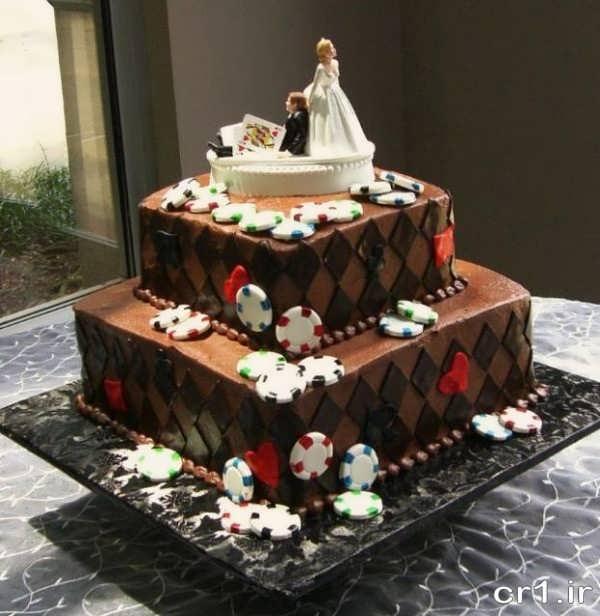 مدل های تزیین کیک عروس و داماد