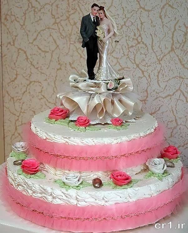 کیک عروسی جدید و شیک 95