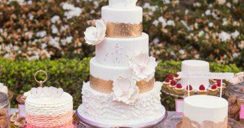 تزیین کیک عروسی جدید و زیبا