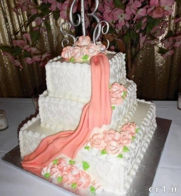مدل های تزیین کیک برای عروس و داماد