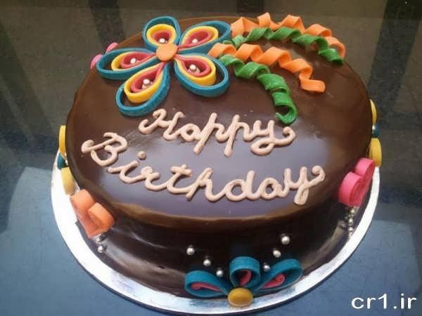 تزیین زیبای کیک تولد