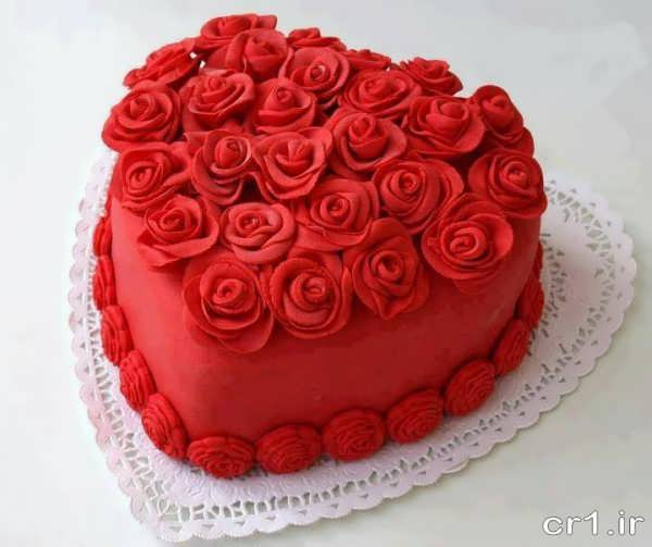 تزیین کیک تولد همسر جدید