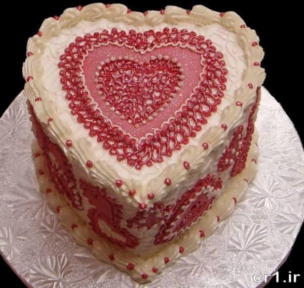 تزیین کیک تولد همسر رمانتیک