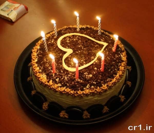 تزیین کیک رمانتیک زیبا و جدید