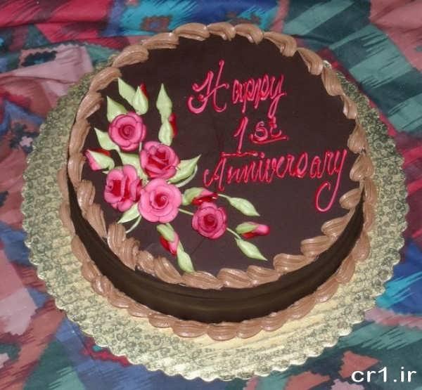 تزیین کیک تولد برای همسر