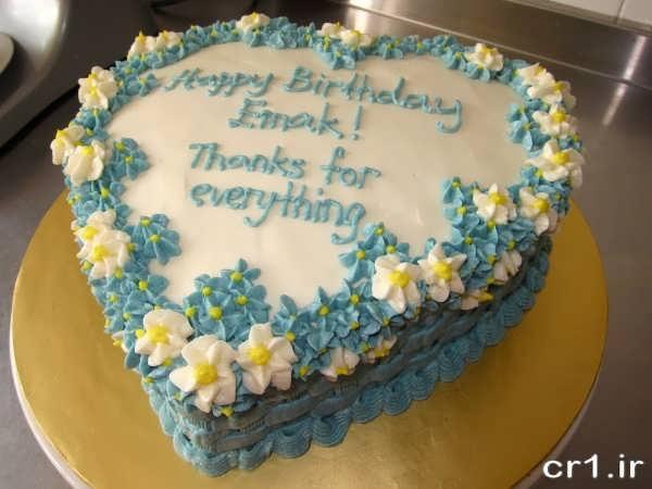 تزیین جدید کیک تولد همسر