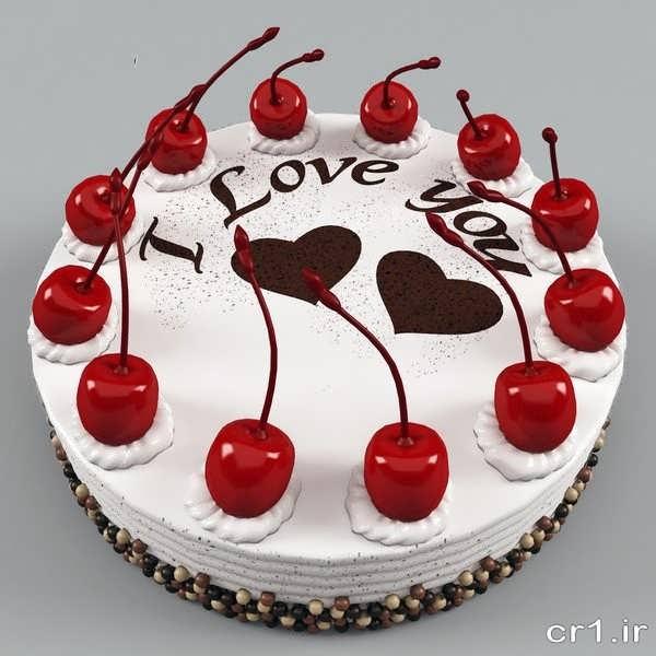 تزیین کیک زیبا و جدید برای تولد