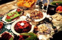 تزیین میز شب یلدا جدید