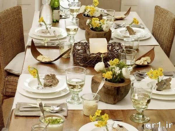 تزیین میز غذا جدید