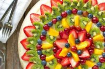 تزیین سالاد میوه جدید