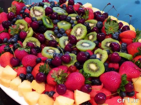 مدل سالاد میوه برای مهمانی