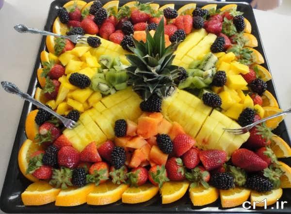 دیزاین سالاد میوه