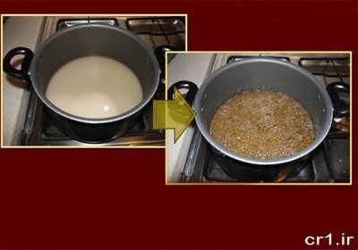 دستور پخت مربای سیب گلاب