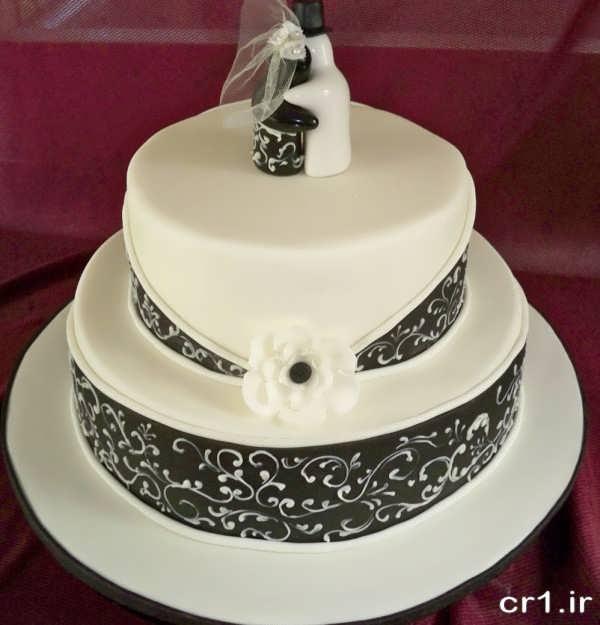 عکس کیک عروسی زیبا