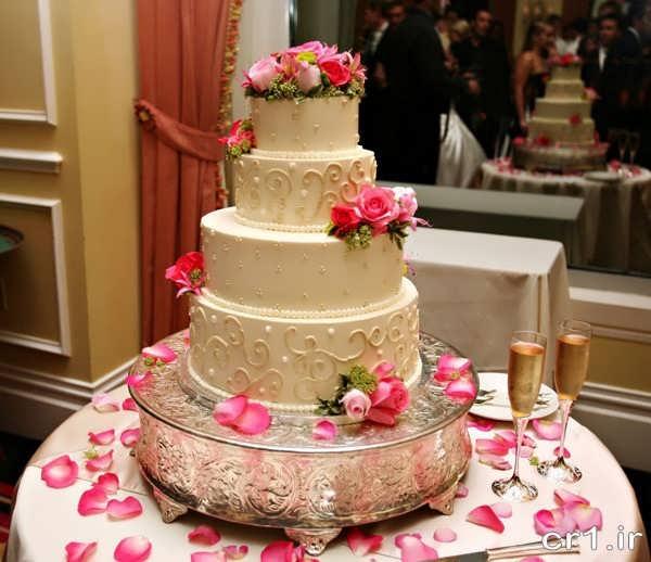 عکس کیک با تزیینات زیبا