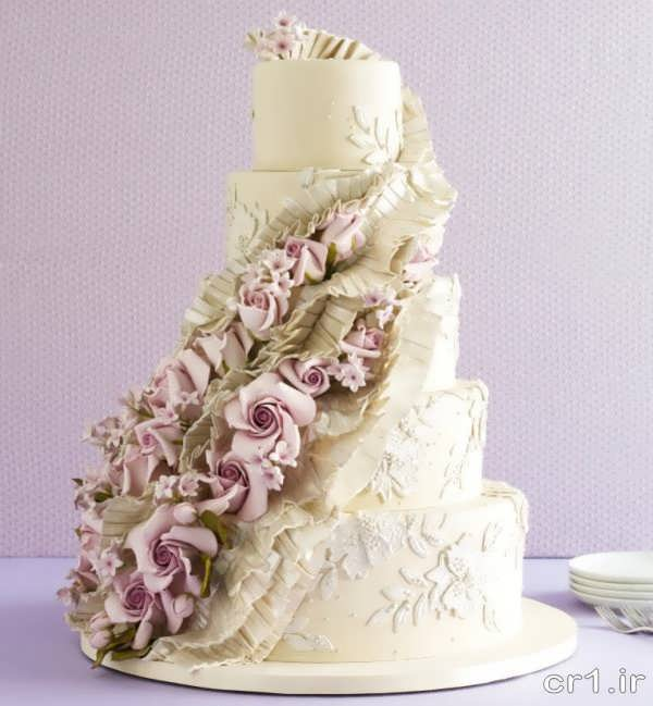 عکس کیک عروسی جدید و شیک