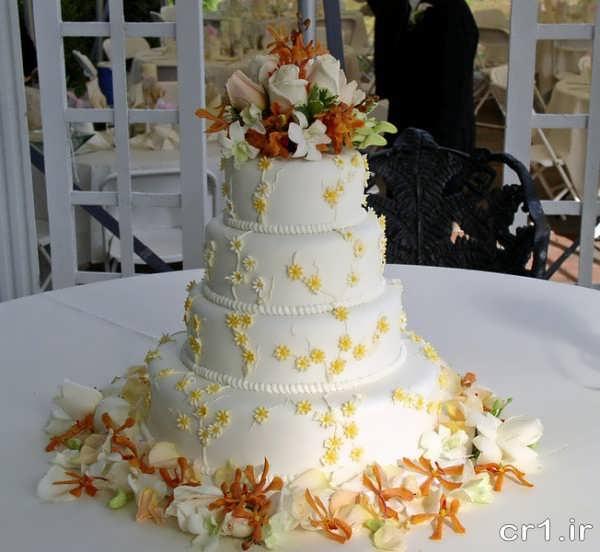 مدل زیبای کیک عروسی