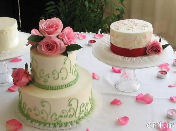 عکس های کیک عروسی جدید