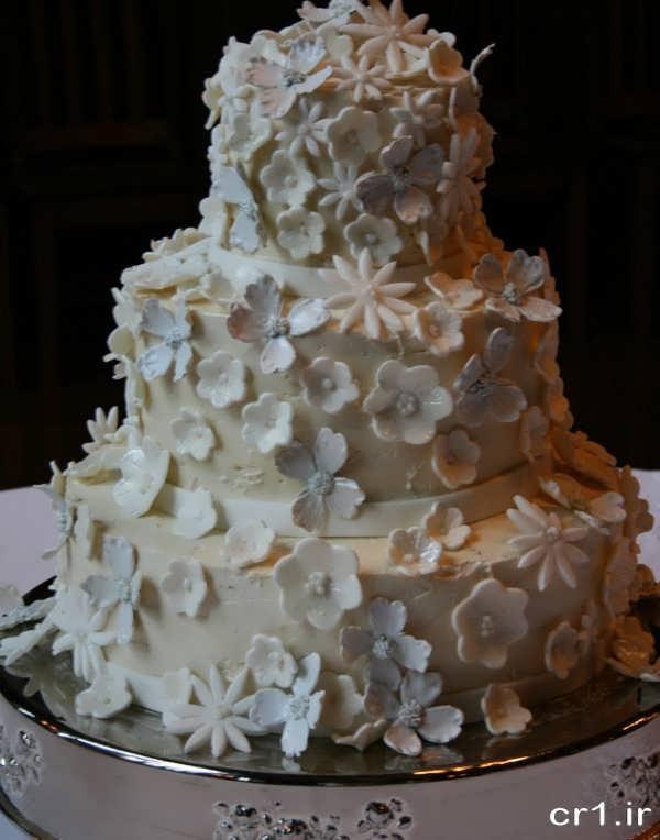 عکس کیک عروسی زیبا و شیک