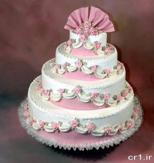 تزیین کیک عروسی با ایده های جدید