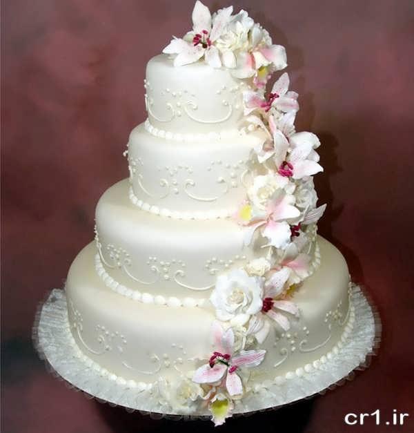 مدل جدید کیک عروسی