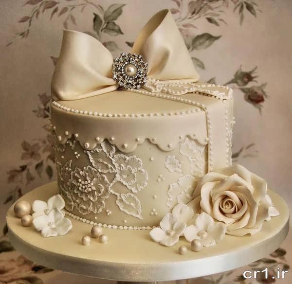 مدل کیک عروسی ساده