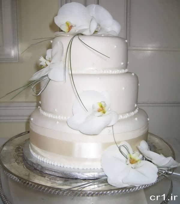 عکس جدید کیک عروسی زیبا