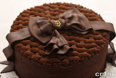 طرز تهیه کیک شکلاتی قنادی بی بی