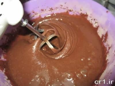 طرز تهیه کیک با کاکائو
