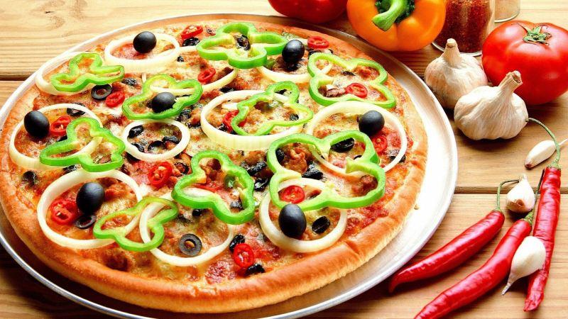 طرز تهیه پیتزا سبزیجات