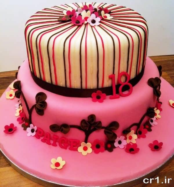 مدل کیک تولد برای دختران جوان