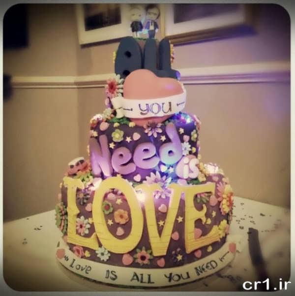مدل کیک تولد دخترانه