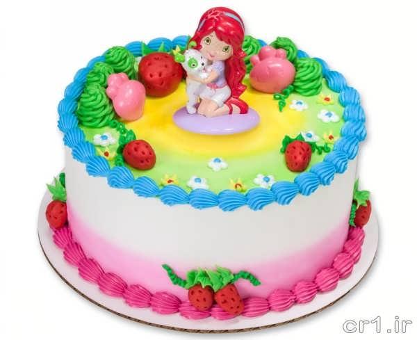 مدل کیک تولد جدید دخترانه