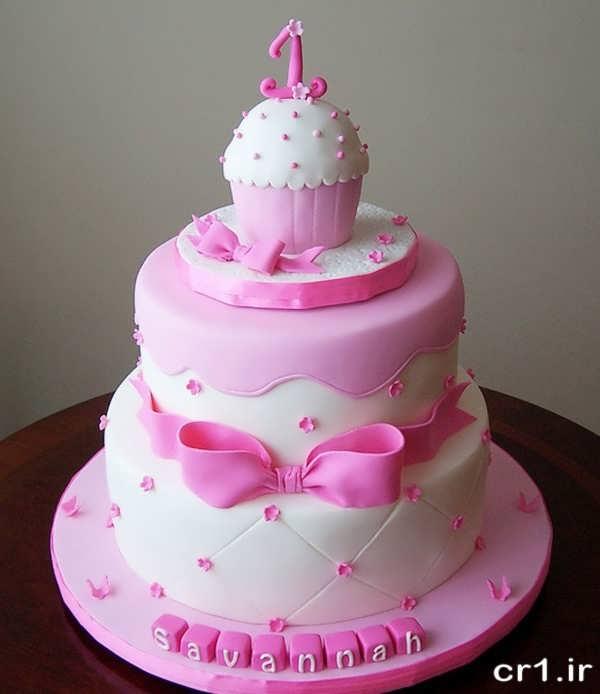 مدل کیک تولد دخترانه جدید و شیک