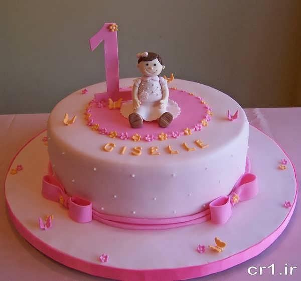 مدل کیک تولد دخترانه زیبا