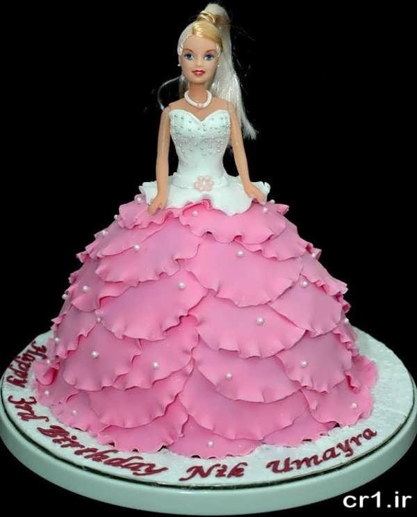 مدل کیک تولد باربی