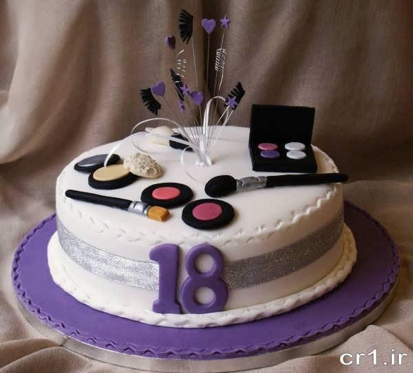 مدل کیک تولد دختران جوان