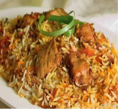 بریانی هندی لذیذ