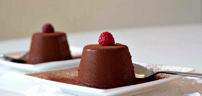 طرز تهیه پاناکوتا شکلاتی در منزل